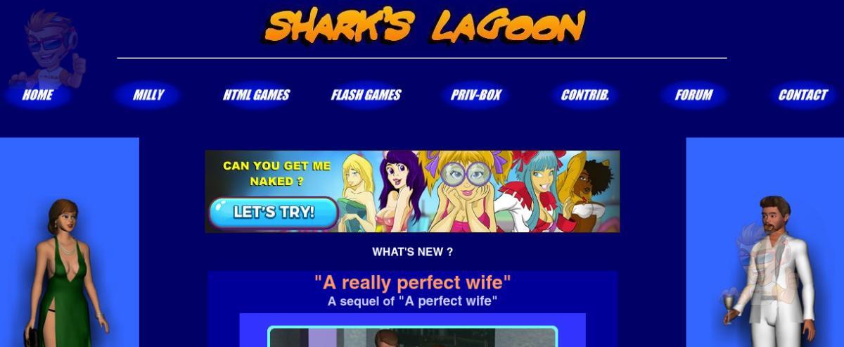 Sharks Lagoon Games