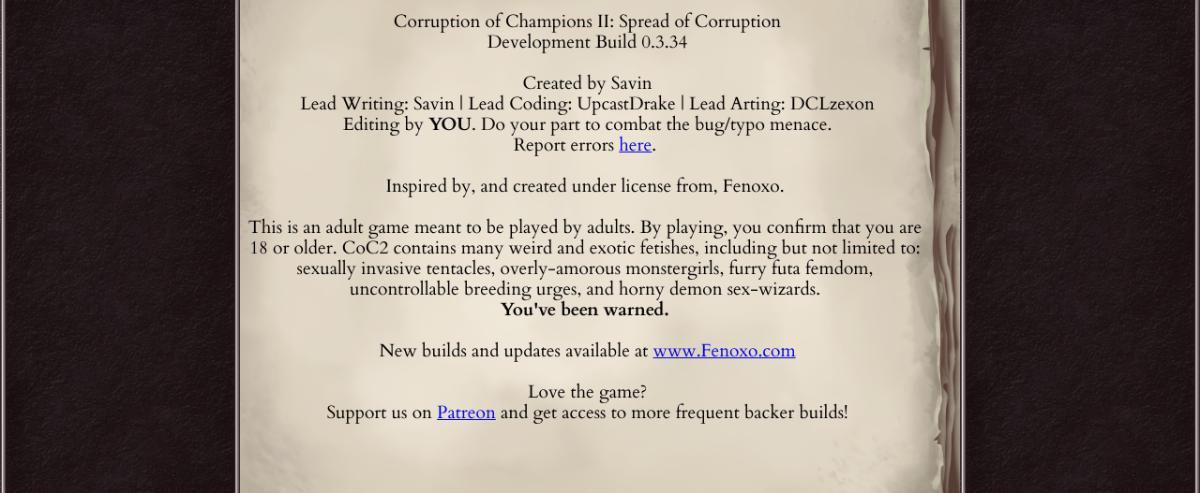 Corruption Of Champions 2